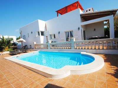 Photo for VILLA LUCA OF CONTEMPORARY DESIGN IN THE EMBLEMATIC IBIZAN STYLE TOWN CALA D´OR.