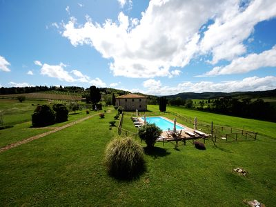 Photo for Villa between Volterra and San Gimignano + FREE YOGA + COOK on request + MASSAGES
