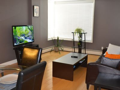 Photo for Entire Condo/Connaught area/Wifi/parking/ Downtown .