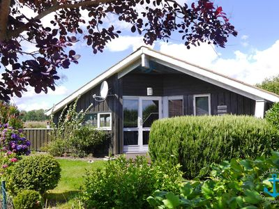 Photo for Danish wooden house with modern equipment and garden area for families