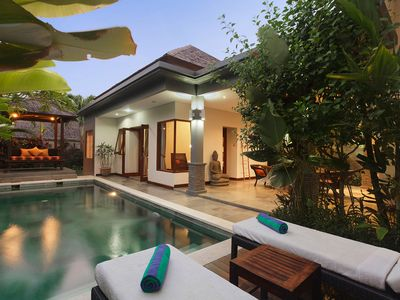 Photo for 2 Bedroom Modern Minimalist Pool Villa Canggu near Echo Beach