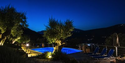 Photo for Four luxury villas with panoramic views and private covered parking