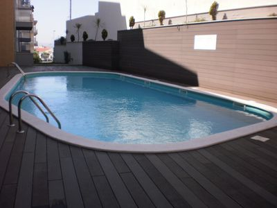Photo for JNM B3 - S. Beach Martinho do Porto - Apartment T2 / 6 PAX with swimming pool