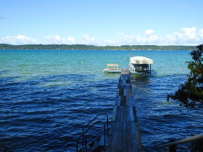 Photo for Torch Lake Sunset Views