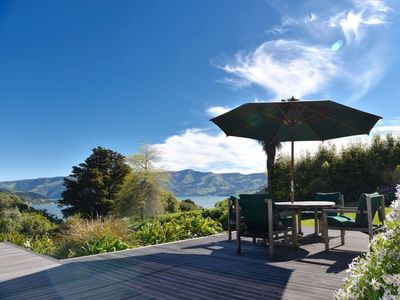 Photo for Port Watch - Akaroa Holiday Home