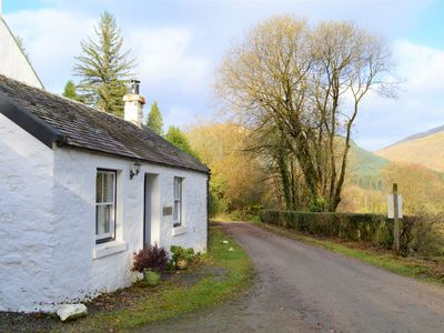 Photo for Quiet village location in beautiful valley close to Dunoon, Argyll. Sleeps 2, pet friendly