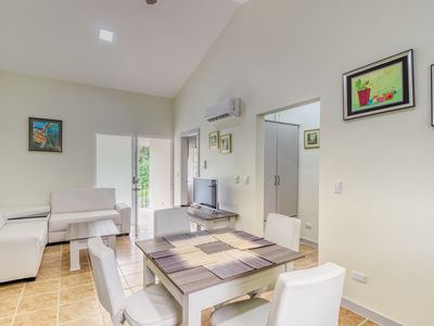 Photo for Sleek apartment in a great location w/ shared pool, pool spa, gated entrance