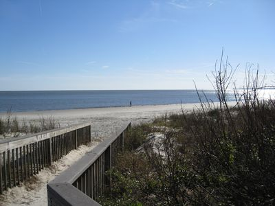 Photo for 2 BR/2BA Oceanfront Condo on Beautiful St. Simons Island