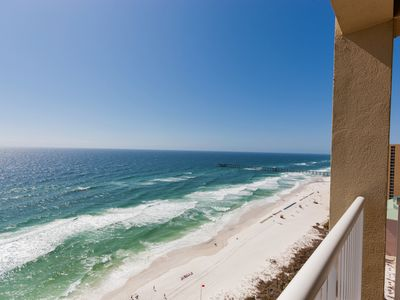 Photo for BEAUTIFUL GULF FRONT 3 BEDROOM 2 BATH UNIT ON THE 20TH FLOOR OF THE RESORT