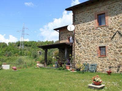 Photo for The apartment is inside the farm, located in a small village of 1300