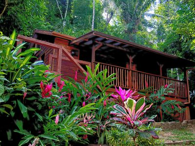 Photo for $ 99 - $ 124 a night, Private, cozy, home rental -watch the howler monkeys !