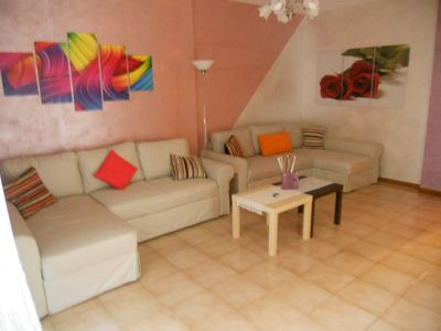 Photo for Ground floor apartment with independent entrance 4 km from the sea