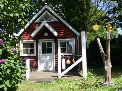 Photo for Hut Lundholm in the countryside and close to the Bodden