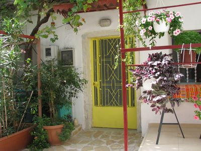 Photo for Traditional house Village near relax-beach Shops Country-walks  near Corfu town