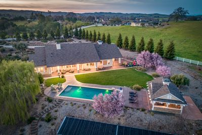 5 acres of luxury accommodations and amenities awaits you in west Templeton