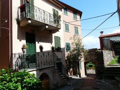 Photo for House in the village of Monte Marcello with views to Portovenere