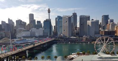 Photo for Luxury 2 bedroom apartment Sydney, Darling Harbour, ICC and free secure parking