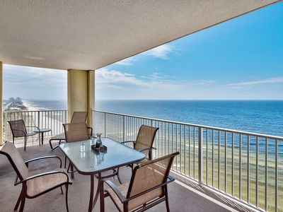 Photo for BEACH FRONT CONDO! OPEN 9/7-14! SLEEPS UP TO 8!