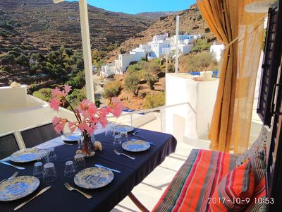Photo for Cycladic traditional house, authentic village