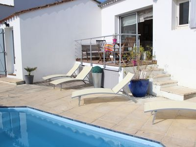 Photo for EVERYTHING IS THERE! THE SUN-THE SEA-THE CALM-THE HEATED SWIMMING POOL ... what are you waiting for!