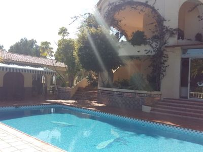 Photo for Family villa with swimming pool in Sierra Altea