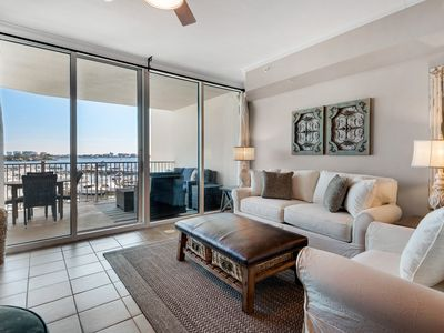 Photo for Breath Taking Views, Huge Private Balcony with Gas Grill, The Moorings unit 314