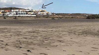 Photo for 50 m2 studio on the beach with sea view and terrace completely renovated