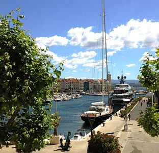 Photo for Studio facing the Port de la Ciotat. Wireless.