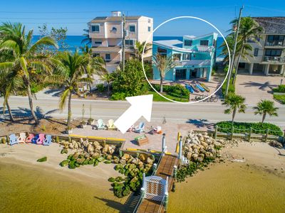 """Photo for """"Family Tides"""":  Ocean-to-River SE Florida Beach House 6+BR/6BA, w/Private Dock"""