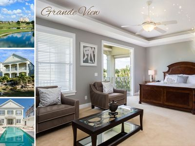 Photo for Grande View - 4 Bed Custom Pool Home with The Finest Views in Reunion