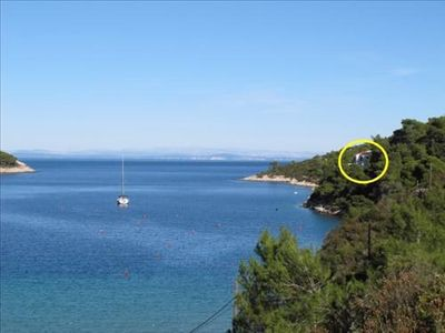 Photo for Holiday house Tanja  - Cove Stoncica (Vis), Island Vis, Croatia
