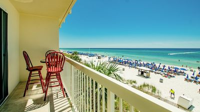 Photo for Celadon! Gulf-front Low Floor With Amazing Views! Free Wifi fall dates open book now!