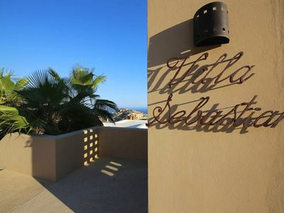 Photo for Beautiful Modern Pedregal Private Beach Villa, Downtown Cabo, 7th Night Free!