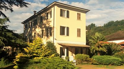 Photo for Villa in the green park on Lake Orta