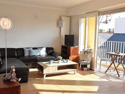 Photo for Renovated T4 apartment in the heart of the Arago district, Les Sables d'Olo