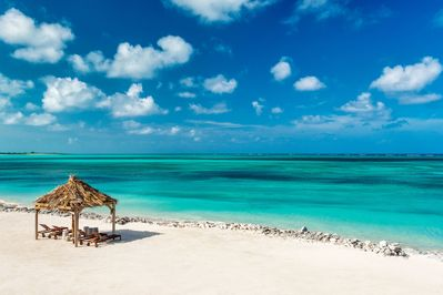 Your own PRIVATE beach on the leeward side of the island. Exclusive Sandy Pt