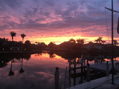 Photo for Dog Friendly; direct access to Gulf; boat dock; walk to beach
