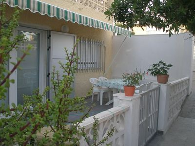 Photo for Comfortable apartment , 40 m from the beach, children and pets welcome