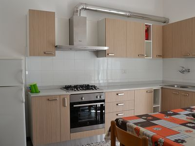 Photo for Residence Zoe, apartment 150 meters from the sea, city center, 60 KM from the mountain