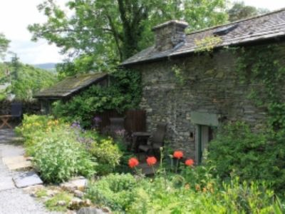 Photo for Detached Traditional Stone Cottage With Garden. Short Walk From Ambleside centre