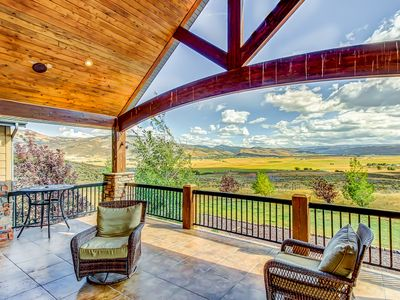 Photo for Lavish, secluded home w/game room & patios on 40 acres!