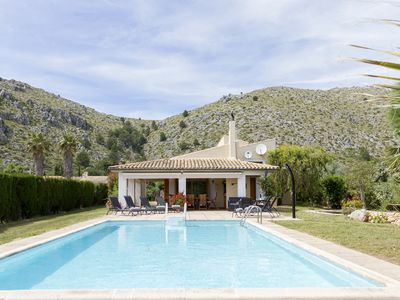 Photo for Villa in Pollensa with pool, beautiful garden and pond, Blossom House.