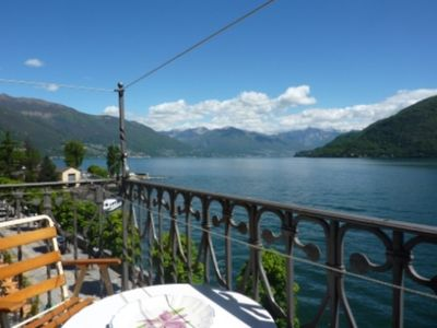 Photo for 3 Z.-FEWO With Lake Seeuferpromendade Cannobio to 6 people