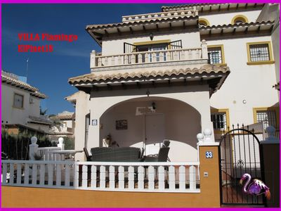 Photo for Alicante - Villa Flamingo El Pinet 18 - 400 m from the beach