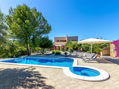 Photo for Natural stone finca with beautiful garden and private pool