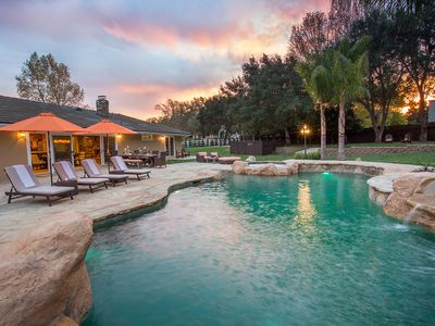 Photo for Paradise Valley Retreat - Wine Country Resort-Style Living