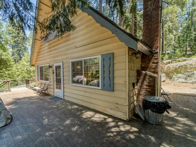 Photo for Cozy family cabin w/ deck, grill, wood-burning fireplace, and more!
