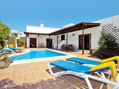 Photo for An ideal villa for family entertainment - pool, pool table & in easy reach of bustling beach resort