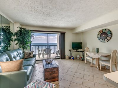 Photo for Beautiful Oceanfront 1 Bedroom Condo, Crescent Tower I 702!