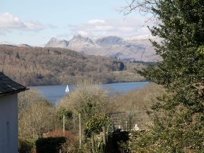 Photo for Village 3 bed en suite spacious house with Views, dog friendly, parking 3 cars